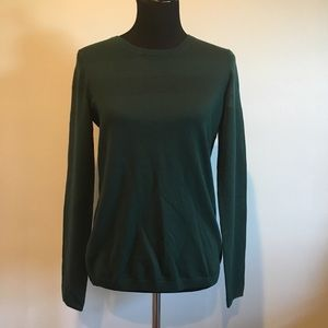Sinclaire 10 Sweaters - • Sinclaire • forest green long-sleeve pullover